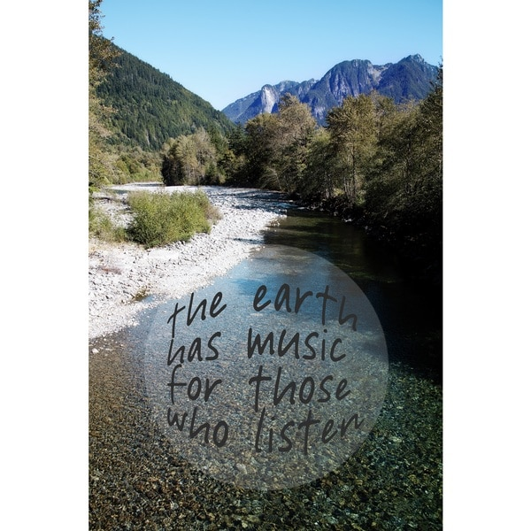 Marmont Hill Art Collective 'The Earth Has Music' Canvas Art