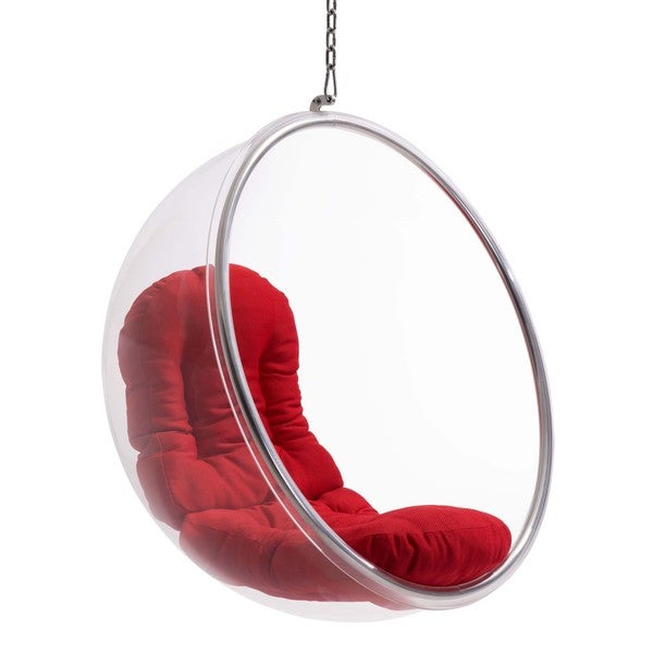 Bolo Suspended Chair Red