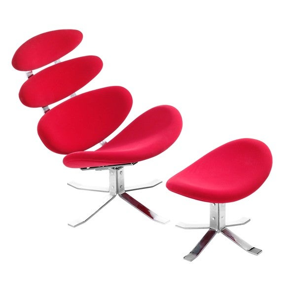 Petal Occasional Chair & Ottoma