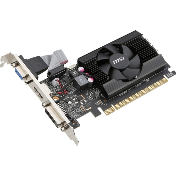 MSI N720-2GD3LP GeForce GT 720 Graphic Card - 797 MHz Core - 2 GB DDR
