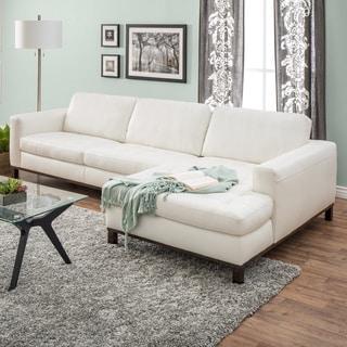 Natuzzi Lindo Cream Leather Sofa