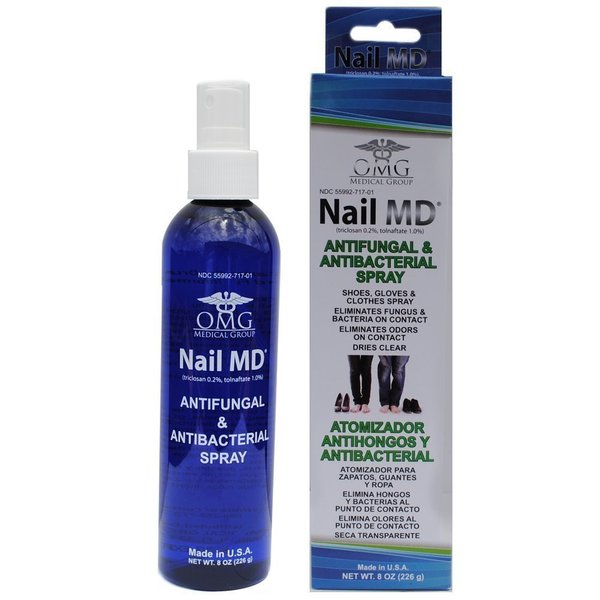 Nail MD Antifungal & Antibacterial 8-ounce Spray