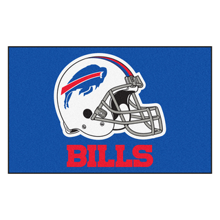 Fanmats Machine-made Buffalo Bills Blue Nylon Ulti-Mat (5' x 8')