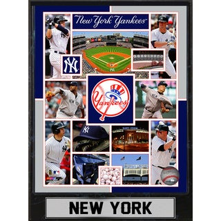 2015 New York Yankees 9x12 Plaque