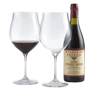 Fusion Triumph Pinot Noir/ Burgundy Wine Glasses (Set of 2)