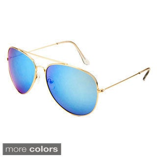 EPIC Eyewear Men's 'Juan' Double Bridge Aviator Fashion Sunglasses