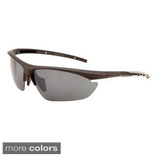 EPIC Eyewear Men's 'Eden' Half Jacket Fashion Sunglasses