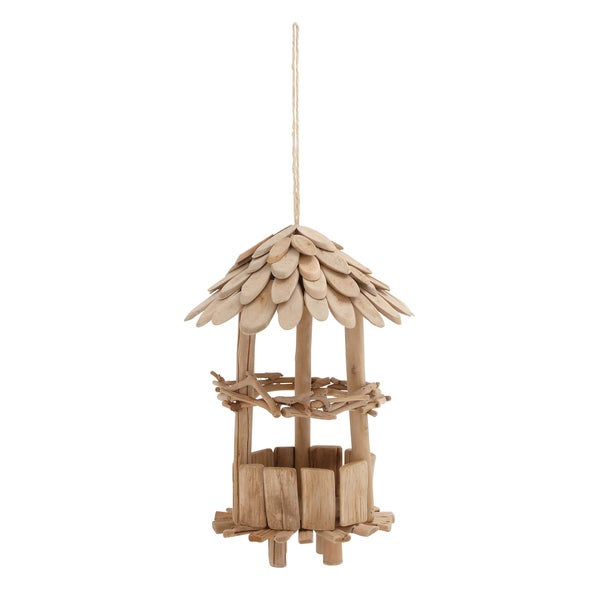 Driftwood Bird Feeder 12 Inches Wide x 29 Inches High