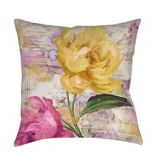 Thumbprintz Sitting Pretty II Indoor/ Outdoor Pillow