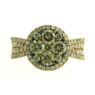 14k Rose Gold 1 4/5ct TDW Brown Diamond Wedding Ring (G-H, SI1-SI2)