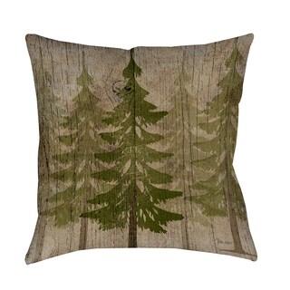 Thumbprintz Pines Decorative Throw Pillow