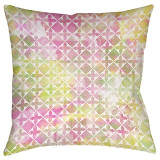 Thumbprintz Summer Florals Pattern II Decorative Throw Pillow