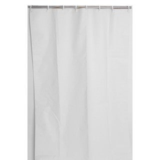42x 74 Heavy-Duty Staph, Mold and Odor Resistant Commercial Shower Curtain (Pack of 10)