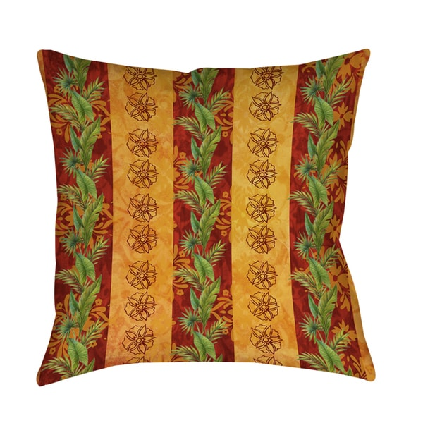 Thumbprintz Palms Decorative Pillow