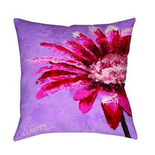 Thumbprintz Pink is for Girls Decorative Pillow