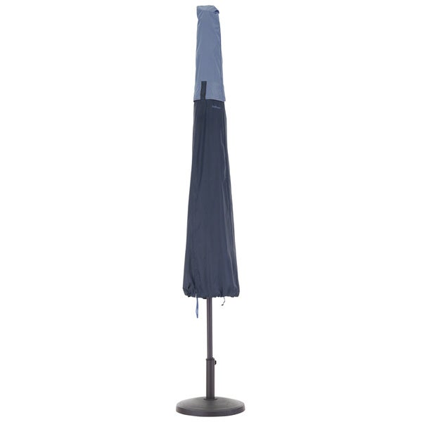 Classic Accessories Belltown Patio Umbrella Blue Cover