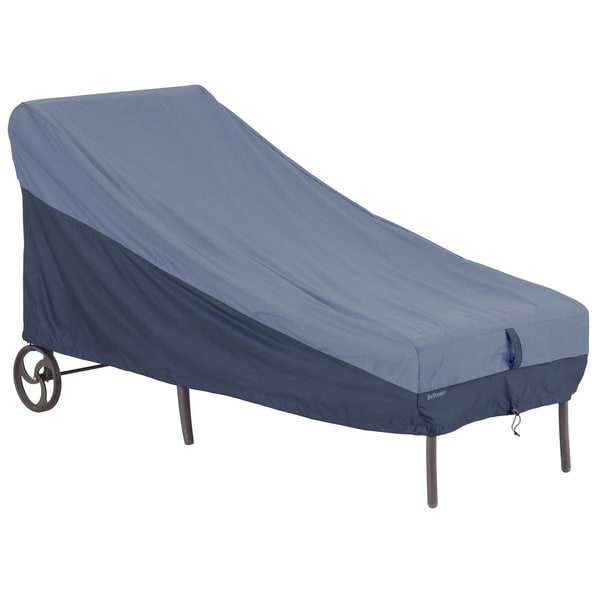 Classic Accessories Belltown Patio Chaise Blue Cover