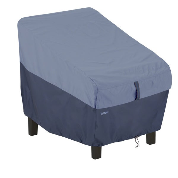 Patio Chair Blue Cover Furniture Garden Deck Yard Weather