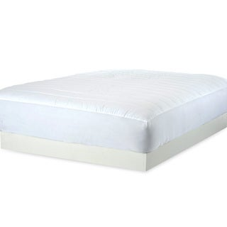 Cloud White Down Alternative 300 Thread Count Mattress Pad