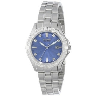Citizen EW1920-53L Ladies Stainless Steel and 32 Diamond Watch