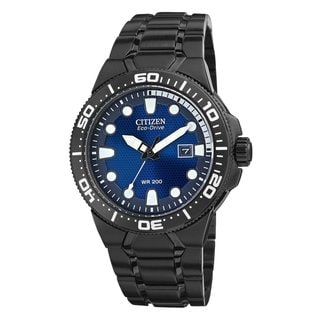 Citizen men's BN0095-59L Stainless Steel Scuba Fin Eco Drive Watch