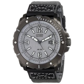 Citizen men's BM7276-01H stainless steel Eco Drive Watch