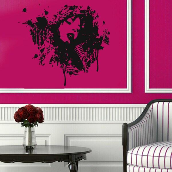 Music Mic Inspirational Sticker Vinyl Wall Art