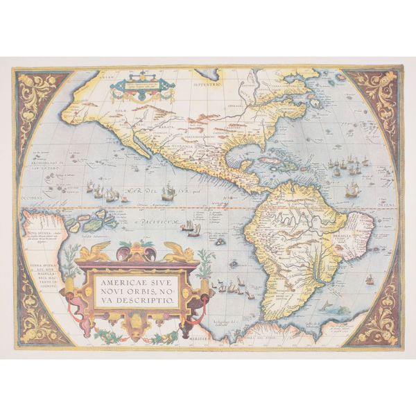 Maps of the Americas, Abraham Ortelius