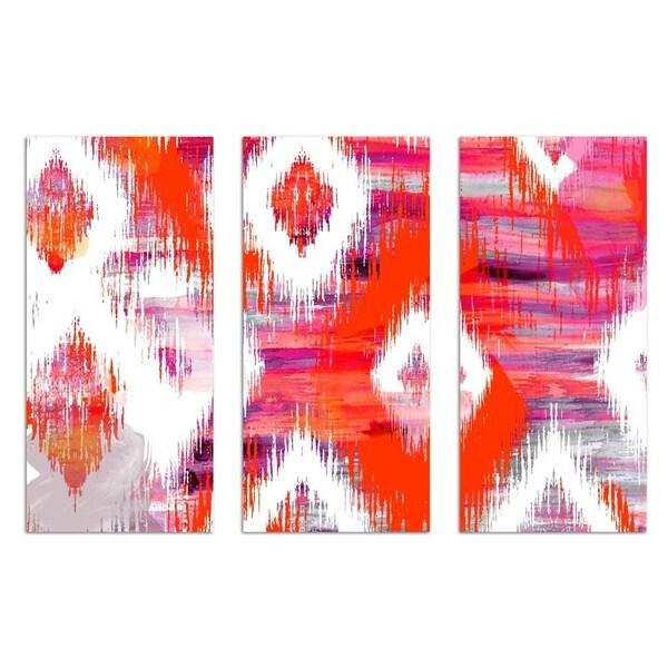 Burst Creative 'Hello Summer! Triptych' Canvas Art