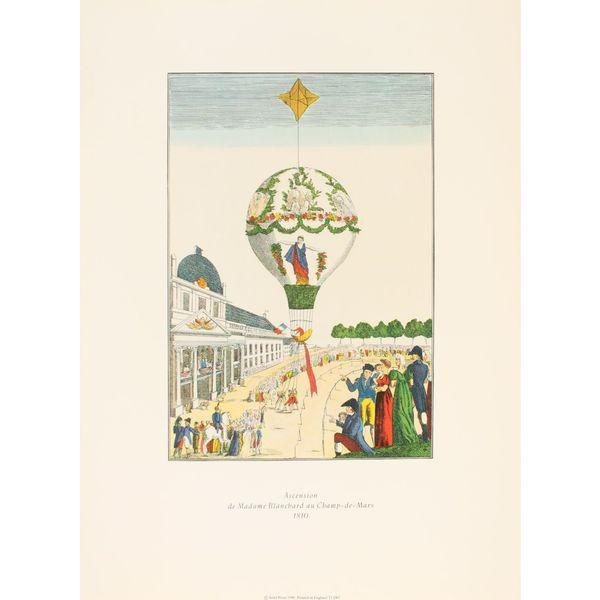 Ascension de Madame Blanchard Balloon