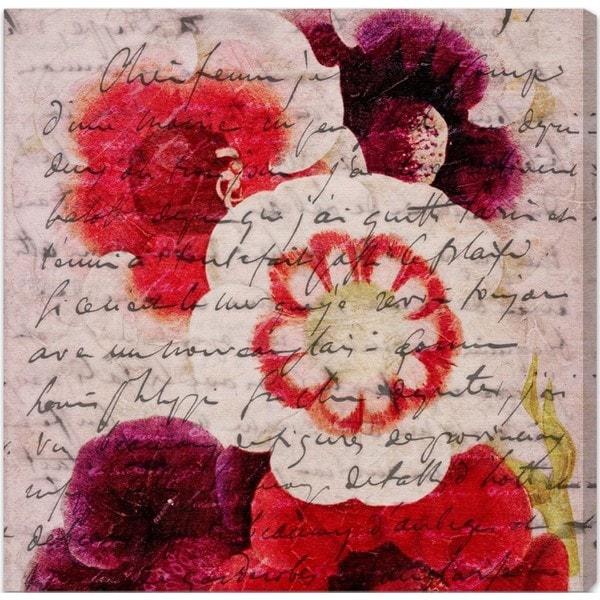 Burst Creative 'Victor Hugo Love Declaration' Canvas Art