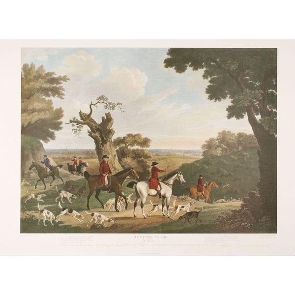 Foxhunting-Plate III, T. N. Sartorius