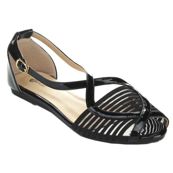 Black Swan CADEN-2 Women's Ankle Strap Gladiator Sandals