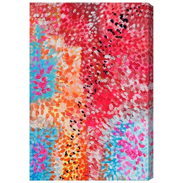 Burst Creative 'Vitae Dots' Canvas Art