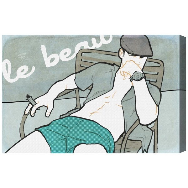 Burst Creative 'Le Beau' Canvas Art