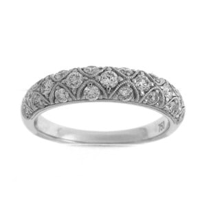 18k White Gold 5/8ct TDW Diamond Fashion Ring (G-H, SI1-SI2)