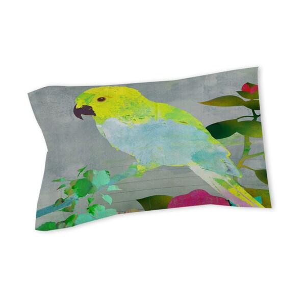 Thumbprintz Collage Parrot Sham