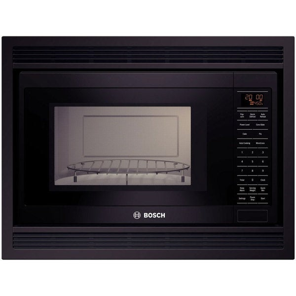 Bosch 1.5 cu. ft. Built-in Microwave with 1,000 Cooking Watts Black