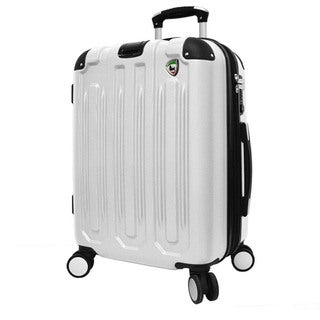 Mia Toro Metallo 29-inch Lightweight Hardside Expandable Spinner Upright Suitcase