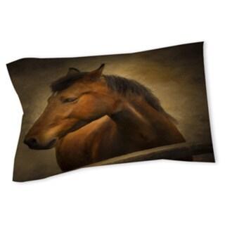 Thumbprintz Chestnut Horse at Fence Sham