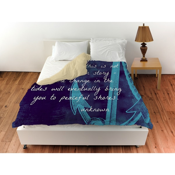 Thumbprintz Let Hope Anchor You Duvet Cover