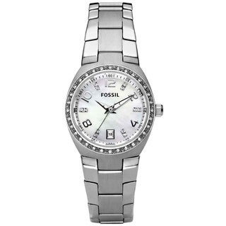 Glitz Mother of Pearl Analog Dial Ladies Watch