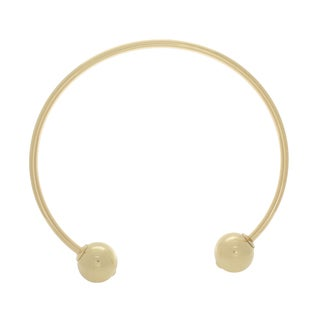 NEXTE Jewelry Goldtone Open Collar Choker Necklace