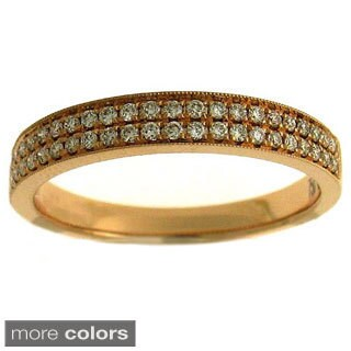 18k Gold 1/4ct TDW Diamond Band (G-H, SI1-SI2)