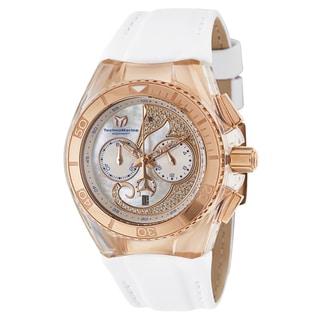 TechnoMarine Women's 'Cruise' Stainless Steel Rose Gold PVD Coated Quartz Watch
