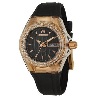 TechnoMarine Women's 'Cruise' Stainless Steel Rose Gold PVD Coated Quartz Watch