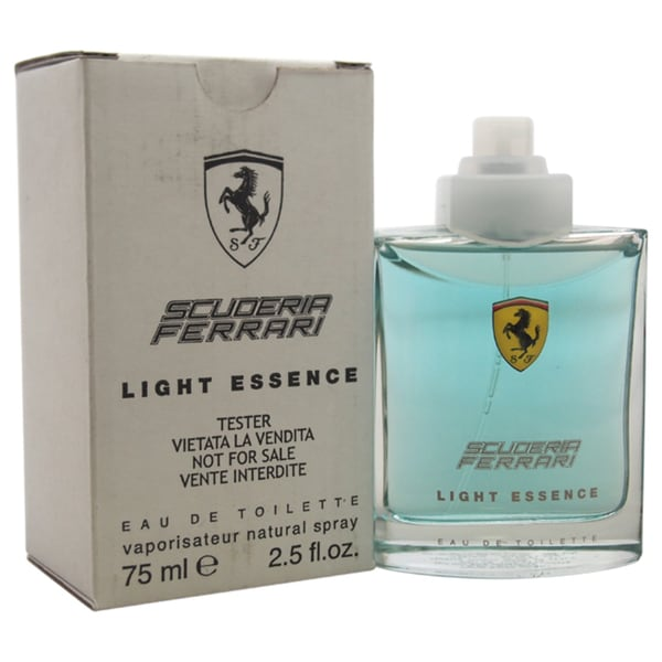 Ferrari Scuderia Light Essence Men's 2.5-ounce Eau de Toilette Spray (Tester) 15336847