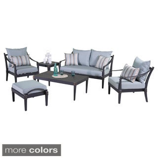 RST Brands Astoria 6-piece Love and Club Deep Seating Set
