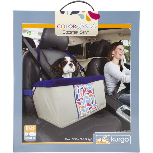 Color Splash Booster Seat 13inX16inX9inDesigned For Dogs Up To 20lbs