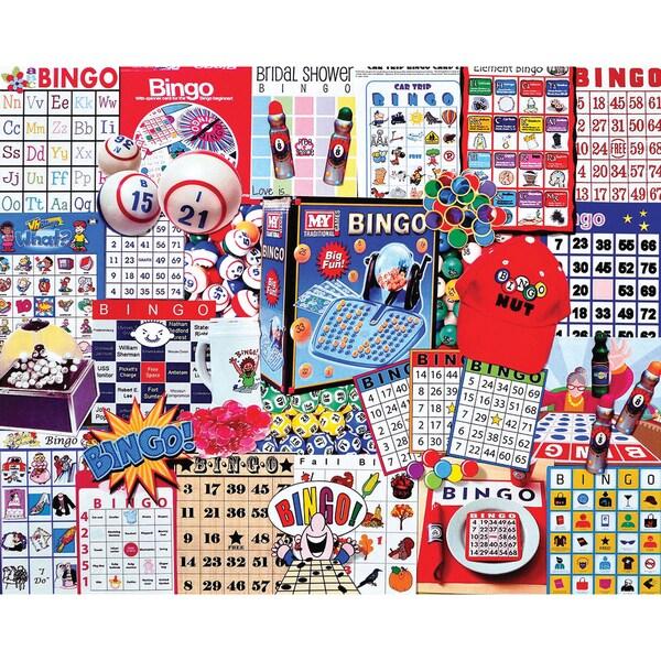 Jigsaw Puzzle 1000 Pieces 24inX30inBingo